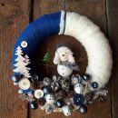 6-modro bel s snežakom