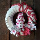 7-roza z vrvico in snežakom