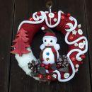 22-rdeče bel z vrvico in snežakom