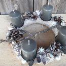 9-sivo srebrn, sive sveče