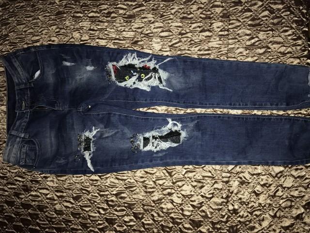 Modne hlače  - foto