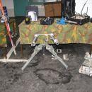 Vodni top za razstreljevanje sumljivih predmetov moči 10.000 barov na 10ih cm, na 1m, pa o