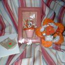 Moje darilo, ki sem ga naredila za moj prvi swap rožic