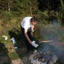 mraky dela ogn za roštilj