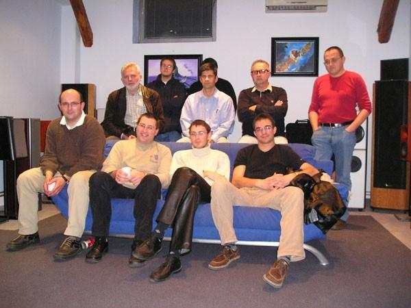 Vklop - AudioClub meeting - 5.11.'03, Ljubljana