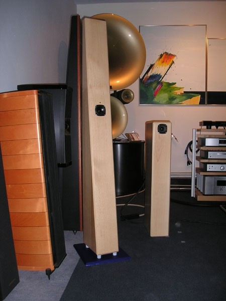 Visaton(e) VoightPipe and Visaton(e) TransmissionLine speakers - Vklop - AudioClub 5.11.'0