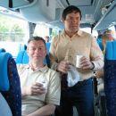 Na avtobusu nam pa res ni bilo dolgčas