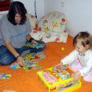 Teja mi pomaga. 25. 9. 2007