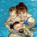 Babi, dedi in jaz smo uživali v Čateških toplicah. Čateške toplice, 27. 9. 2007