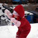 Prvič na snegu v sezoni 07/08. 16. 12. 2007