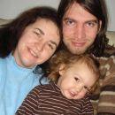 Poziranje za božič. 25. 12. 2007