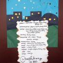 Programski list božične igre z naslovov Otročiček, ki so si ga vsi želeli.