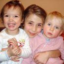 Rebeka, Živa in Ivana. Šentjur, 2. 2. 2008