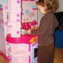 Kuhinja, ki sem jo dobila za rojstni dan je prava atrakcija.<br>Šentjur, 30. 12. 2007