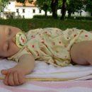 Omagana. V parku pred gradom Fužine, 28. 6. 2006