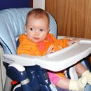 Rebeka v stolčku v Konjicah