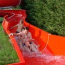 Prvi spust po vodnem toboganu, Atlantis, 26. 7. 2006
