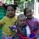 Triperesna deteljica: Amelie, jaz in Noemi.
