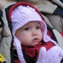 Tako sem napeto čakala obisk Dedka Mraza v vrtcu. 20. 12. 2007