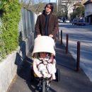 Na sprehodu po Ljubljani. 5. 4. 2007