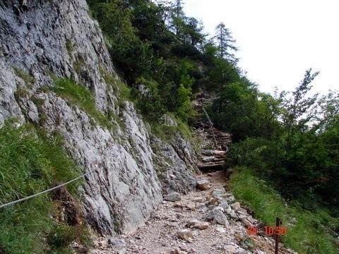 Okrešelj - Kamniško sedlo - foto povečava