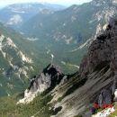 Pogled na Logarsko dolino