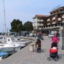 17. april - Izola, pred hotelom MARINA, kjer smo spali = in front of hotel MARINA where we