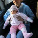 6. nov. 2006 Brina v tradicionalnem londonskem taxiju; Brina in the London cab