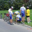 Včasih kolesarjenje ni le užitek , temveč tudi malo manjši užitek - popravilo koles ...