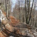 gozdarska vlaka - podaljšek gozdne ceste, ki se konča na sedlu med Streliškim vrhom in Sre