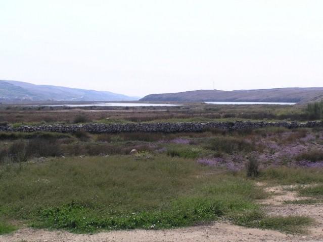 Pag- opuščene soline v bližini kraja Smokvica