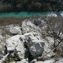še en pogled s prvega grebena proti Soči...