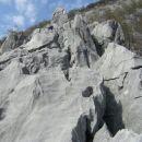 zadnji metri prvega grebena...