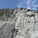 drugi greben; takole se je kazalo pred menoj nadaljevanje vzpona...