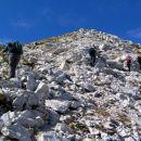 tik pod vrhom Škofiča ( 2013 m nm )
