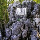 spomenik, ki stoji ob cesti med Komnom in Dutovljami na Krasu in spominja na podvige Avstr