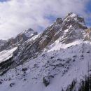 gore nad Vršičem : mala Mojstrovka in Robičje