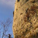 varujoči ( na tleh ) in plezalec ( v steni ) Razpadalice