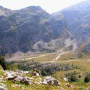 Široka kotanja planine Na Polju ( 1560 m / nm )