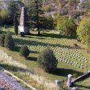 avstro - ogrsko vojaško pokopališče v Solkanu