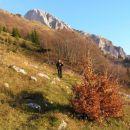 Zaključek sestopa na planini Zapleč