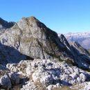 Skutnik ( 2074 m ) - severni odrastek grebena Krnčice; pogled z vzhodneje ležečega pomola