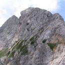 pogled s škrbine Kotliči - 1976 m nm med Brano in Tursko goro proti vrhu Turske gore - 225
