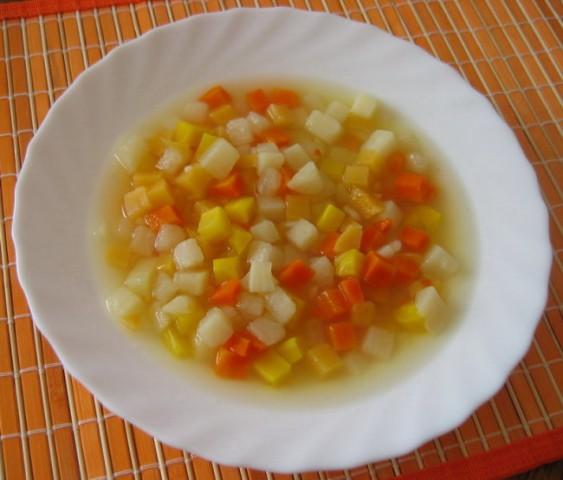 ŠARA  Sestavine: repa, koleraba, rdeče in rumeno korenje, krompir, sol in poper po okusu