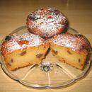 JABOLČNI MUFFINI  2skodelici moke, 1 pecilni prašek, 1/2 sko. sladkorja, ščep soli, 1 va