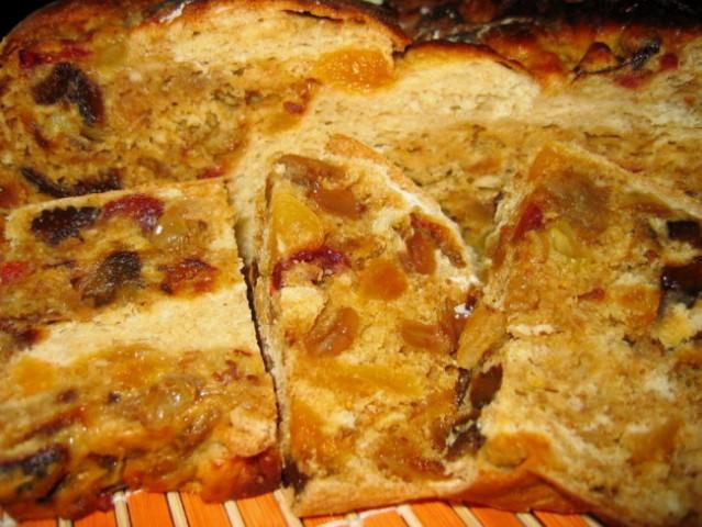 KVAŠENI SADNI KRUH  Uporabila sem tale recept s Kulinarike (http://www.kulinarika.net/ba