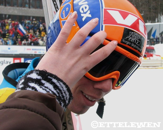 Anders bardal... and my friend removing his goggles, lol