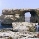 Azurno okno na otoku Gozo