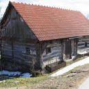 Stara lesena hiška Zabukovje pri Trebelnem