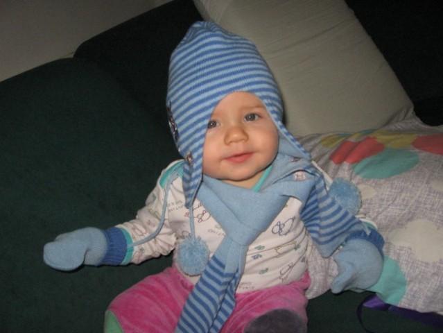 Sem kot punčka :)